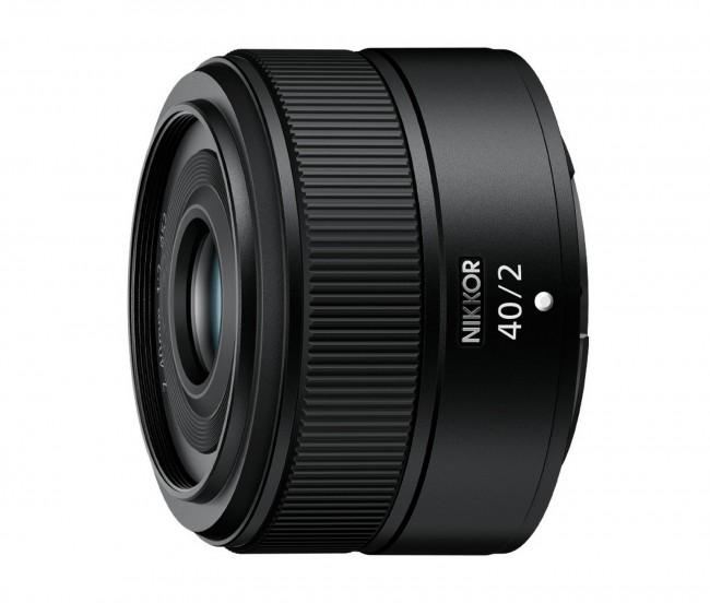 Nikkor Z 40mm F2.0 Czarny - zdjęcie główne