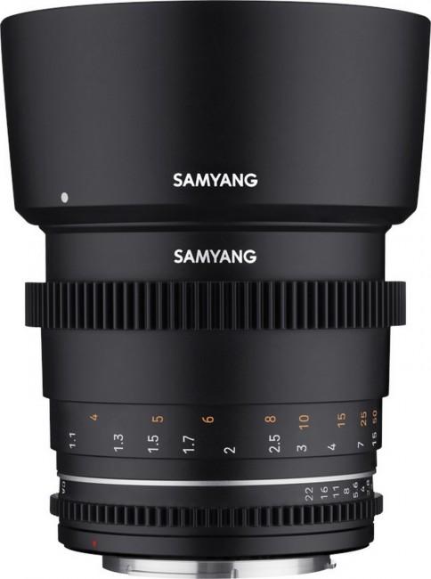 SAMYANG 85MM T1.5 VDSLR MK2 MFT - zdjęcie główne
