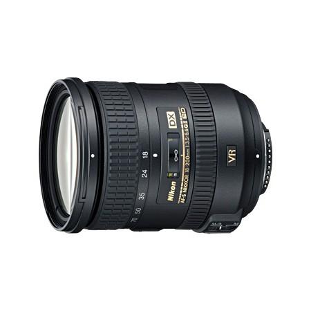 Nikkor AF-S 18-200mm f/3.5-5.6G ED DX VR II - zdjęcie główne