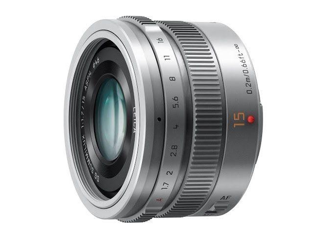 Panasonic LEICA DG SUMMILUX 15mm f/1.7 ASPH Srebrny - zdjęcie główne