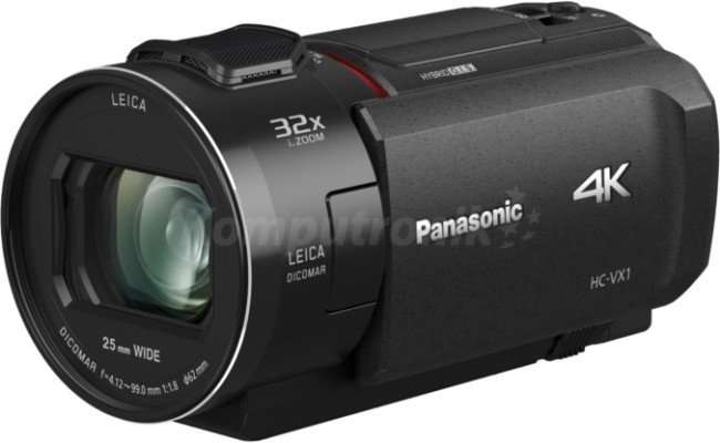 Panasonic HC-VX1EP 4K czarna - zdjęcie główne