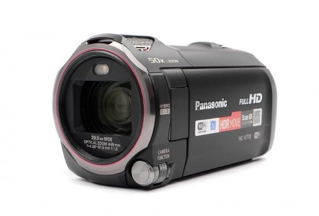Panasonic HC-V770EP-K czarna - zdjęcie główne