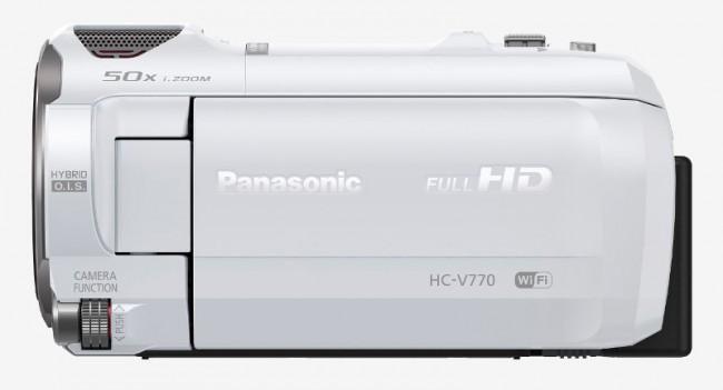 Panasonic HC-V770EP-W biała - zdjęcie główne