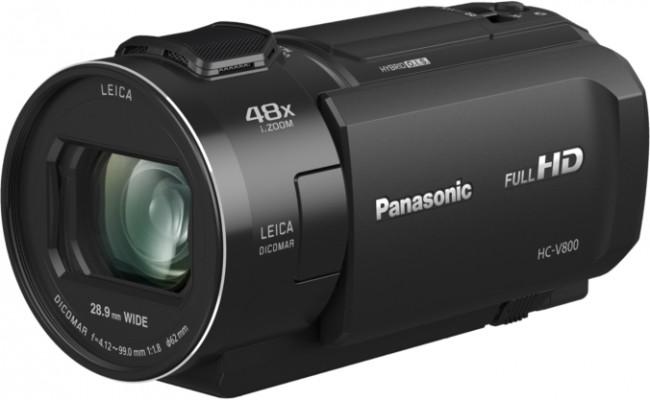 Panasonic HC-V800EP-K czarna - zdjęcie główne