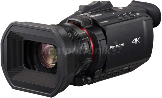 Panasonic HC-X1500 4K Ultra HD czarna - zdjęcie główne