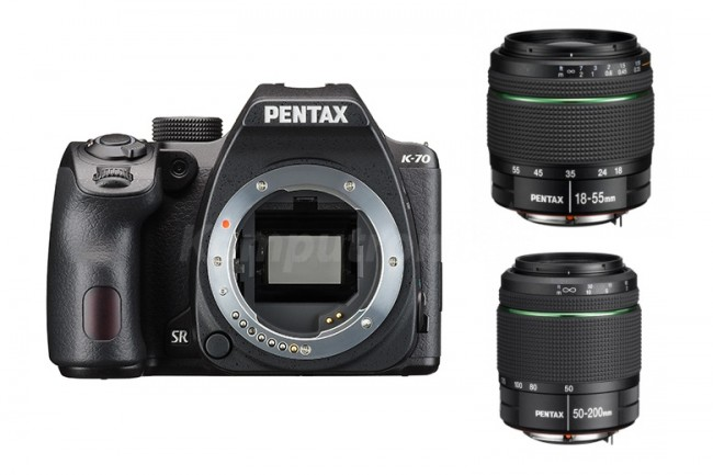 Pentax K-70 + DAL 18-50WR + DAL 50-200WR - zdjęcie główne