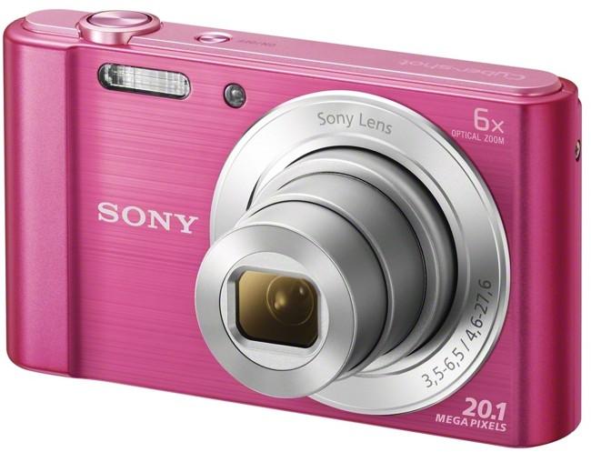 Sony Cyber-Shot DSC-W810 Różowy - zdjęcie główne