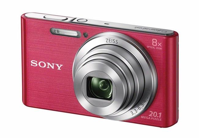 Sony Cyber-Shot DSC-W830 Różowy - zdjęcie główne