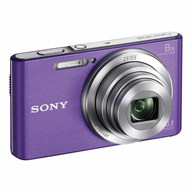 Sony Cyber-Shot DSC-W830 Fioletowy - zdjęcie główne