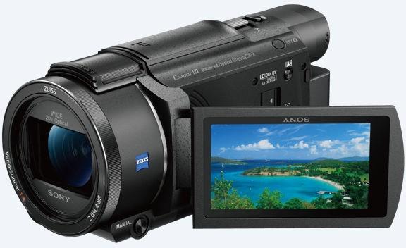 Sony FDR-AX53 4K Czarna - zdjęcie główne