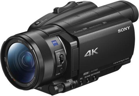 Sony FDR-AX700 4K Czarna - zdjęcie główne