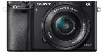 Sony Alpha ILCE-6000 + obiektyw Sony SELP 16-50mm czarny - zdjęcie główne