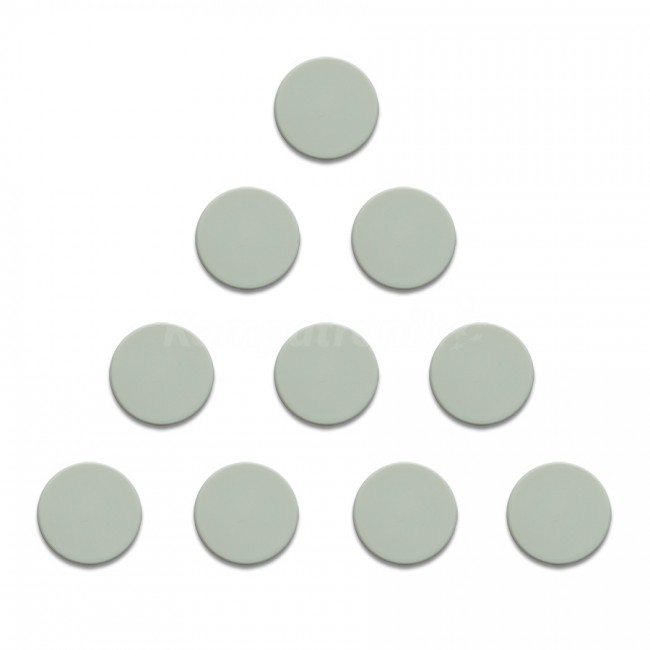 Magnesy 10 sztuk 20 mm białe - zdjęcie główne