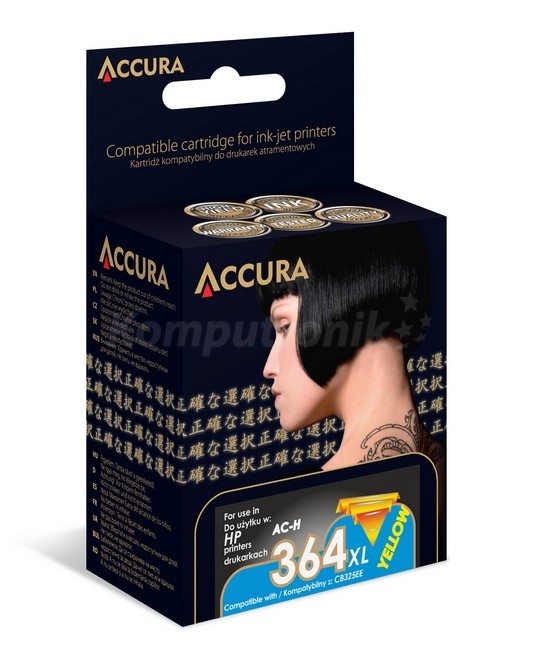Accura ink HP No. 364XL (CB325EE) zamiennik - zdjęcie główne