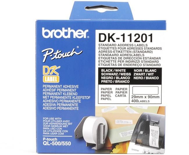 Etykiety Brother DK-11201 - zdjęcie główne