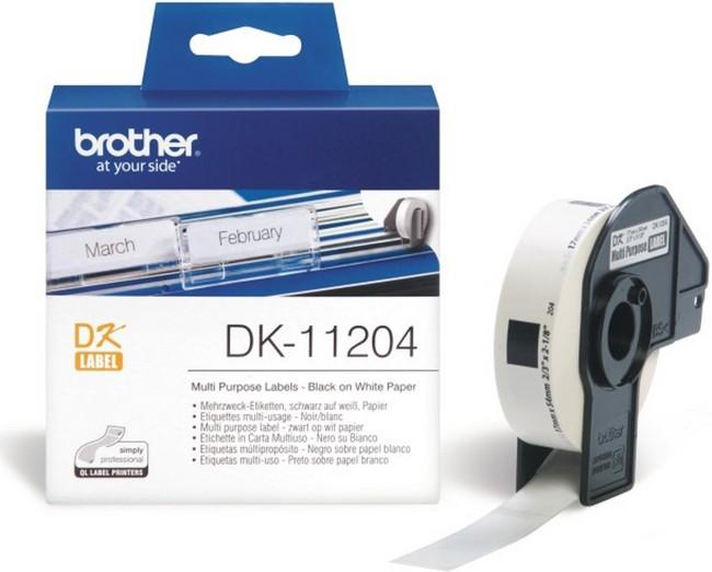 Etykiety Brother DK-11204 - zdjęcie główne