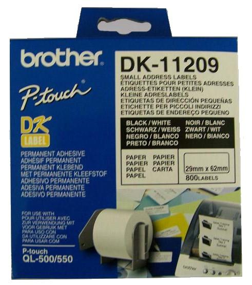 Etykiety Brother DK-11209 - zdjęcie główne