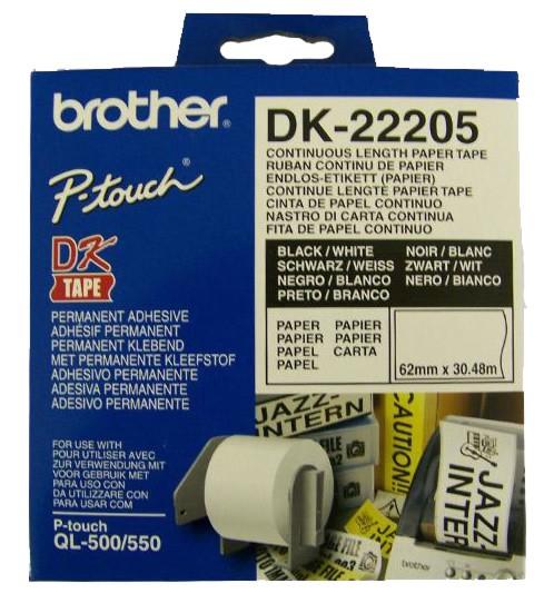 Etykiety Brother DK-22205 - zdjęcie główne