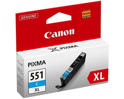 Canon CLI 551 XL niebieski - zdjęcie główne