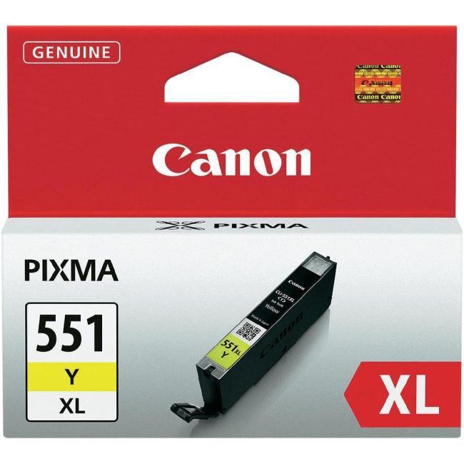Canon CLI 551 XL żółty - zdjęcie główne