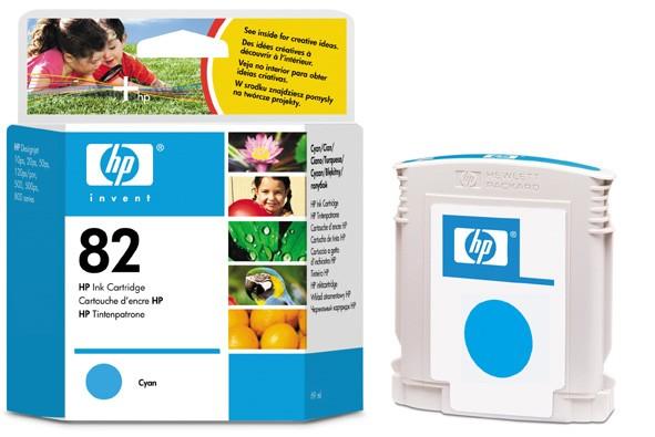 HP No. 82 błękitny [69ml] - zdjęcie główne