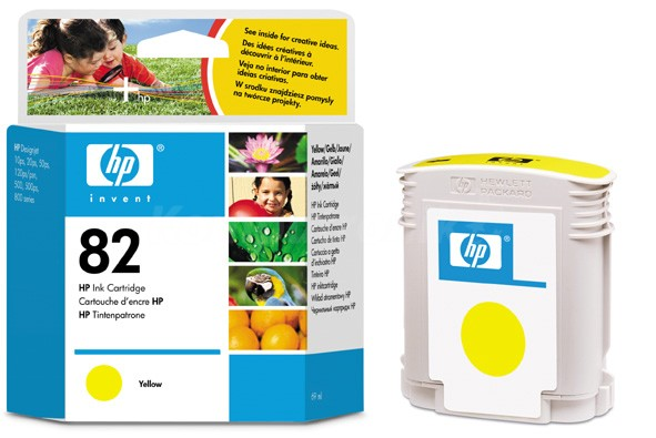 HP 82 żółty C4913A - zdjęcie główne