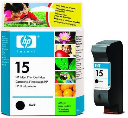 HP No. 15 czarny [25ml] - zdjęcie główne