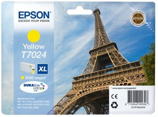Epson T7024 Durabrite XL żółty - zdjęcie główne