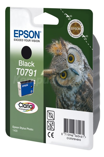 Epson T0791 Claria Photo czarny - zdjęcie główne