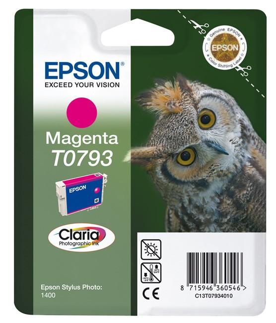 Epson T0793 Claria Photo purpurowy - zdjęcie główne