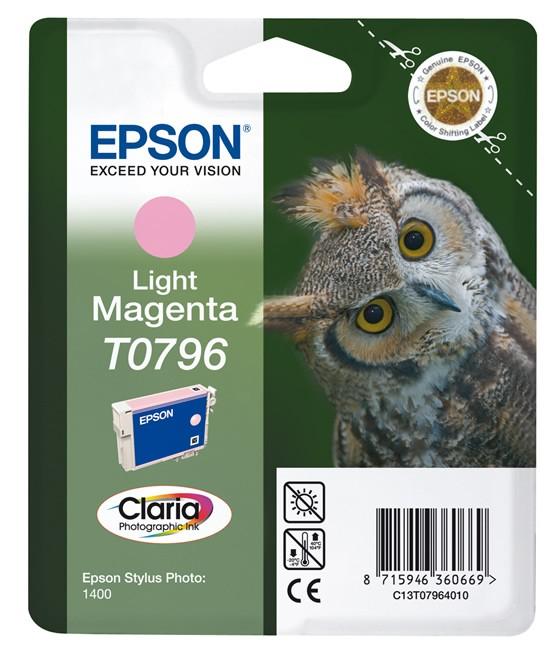Epson T0796 Claria Photo jasny purpurowy - zdjęcie główne