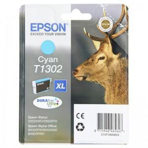 Epson T1302 XL Durabrite Ultra błękitny - zdjęcie główne