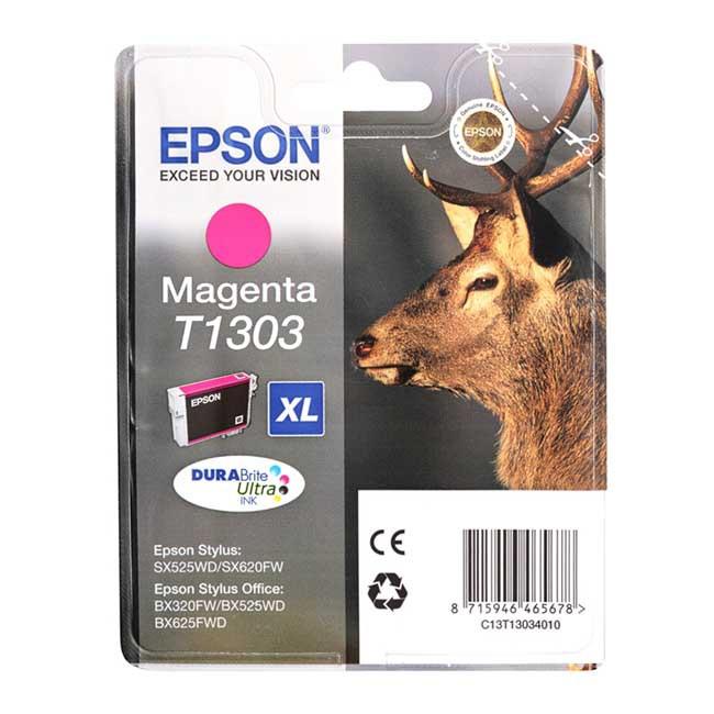 Epson T1303 XL Durabrite Ultra purpurowy - zdjęcie główne