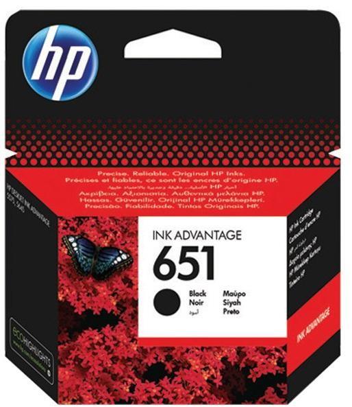 HP 651 czarny C2P10AE - zdjęcie główne