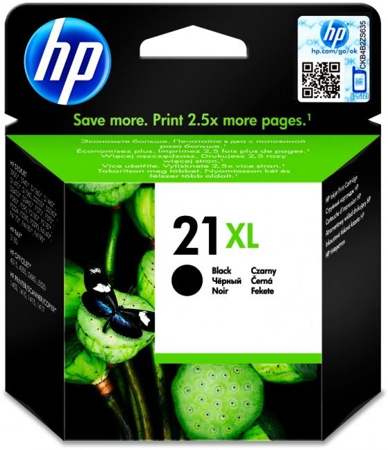 HP No. 21 XL czarny - zdjęcie główne
