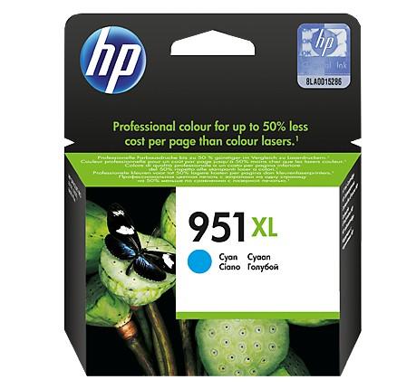 HP No. 951 XL błękitny - zdjęcie główne