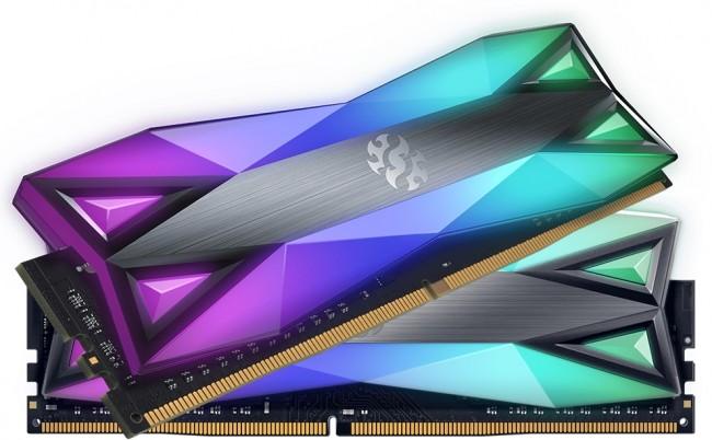ADATA XPG SPECTRIX D60 RGB 16GB [2x8GB 3600MHz DDR4 CL14 DIMM] - zdjęcie główne