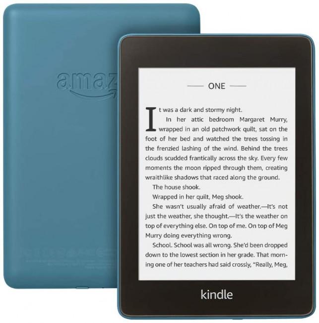 Kindle Paperwhite 4 8GB Waterproof niebieski [z reklamami] EU - zdjęcie główne