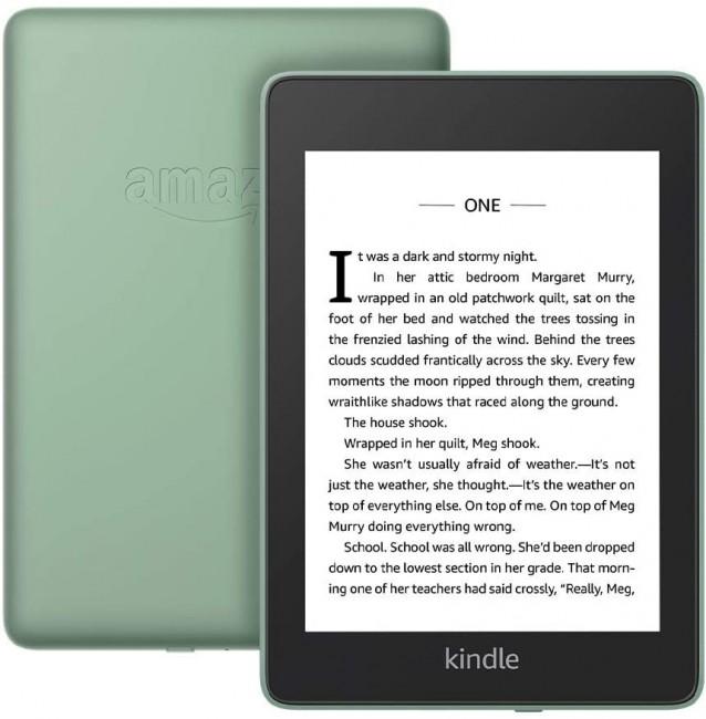 Kindle Paperwhite 4 8GB Waterproof zielony [z reklamami] EU - zdjęcie główne
