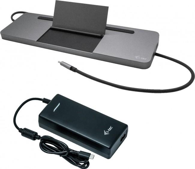i-tec USB-C Metal Ergonomic 4K 85W + 112W - zdjęcie główne