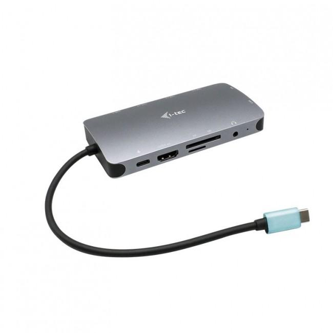 i-tec USB-C Metal Nano HDMI VGA PD100W - zdjęcie główne