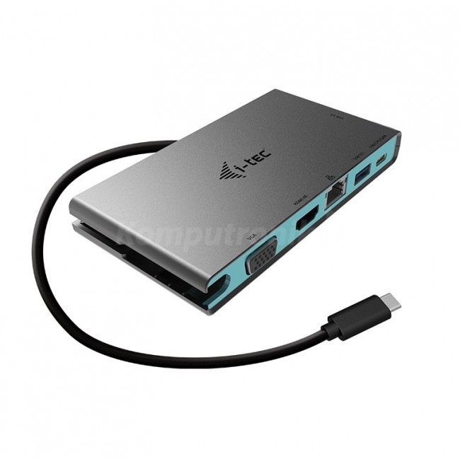 i-tec USB-C Travel 4K kabel 0.2m - zdjęcie główne