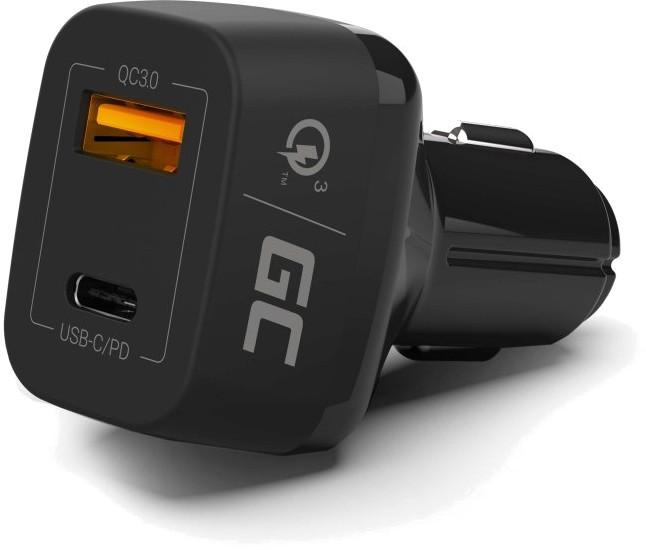 Green Cell 1x USB-C 24W Power Delivery 1x USB Quick Charge 3.0 - zdjęcie główne