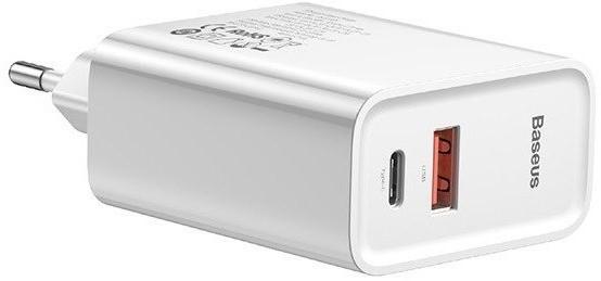 Baseus 30W PD QC 4.0 biała - zdjęcie główne