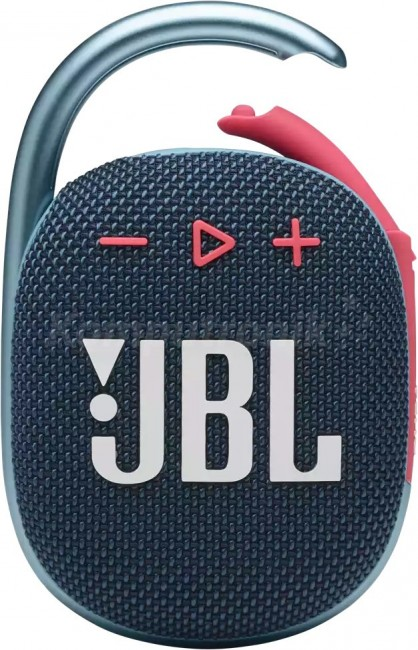 JBL Clip 4 Niebiesko-Różowy - zdjęcie główne