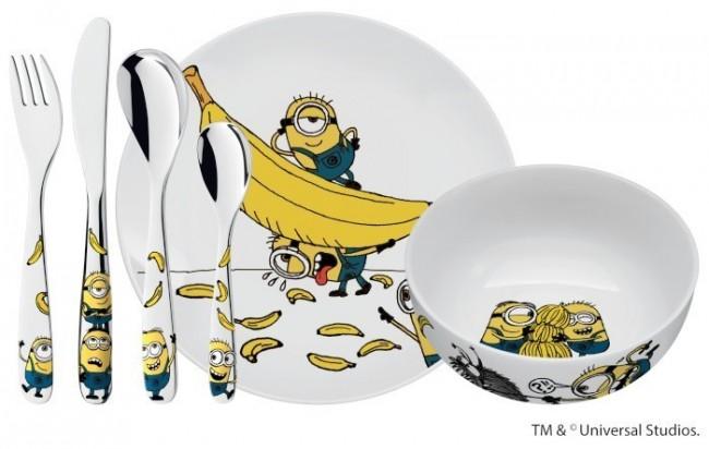 WMF Minionki Zestaw dla dzieci 6el.1282409964 - zdjęcie główne