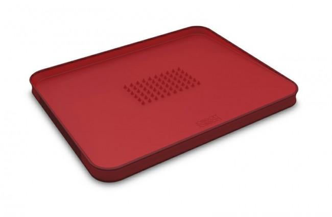 Joseph Joseph Cut&Carve Plus Large 60004 czerwona - zdjęcie główne