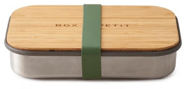 Black + Blum Sandwich Box oliwkowy - zdjęcie główne