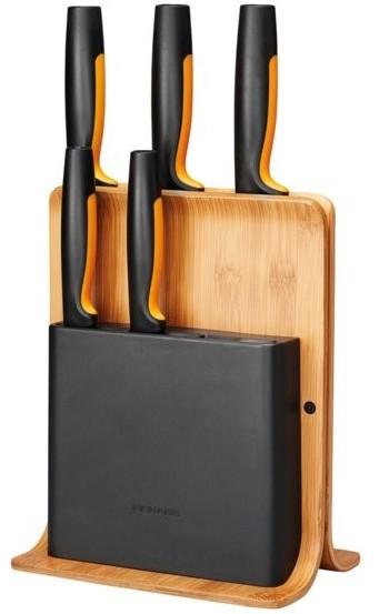 Fiskars Functional Form 5 szt w bloku bambusowym 1057552 - zdjęcie główne