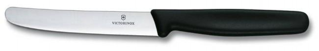 Victorinox nóż stołowy czarny - zdjęcie główne